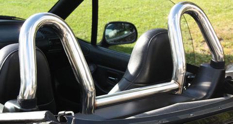 BMW Z3 ステンレスポリッシュ ロールバー2  BMW z 3 roll bar 2