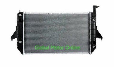 96-05 シボレーアストロ/GMCサファリ 4.3L V6 アルミラジエター  1786