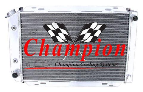 マスタング 80-93 2Row Champion アルミラジエター EC138