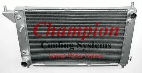 マスタング 96年式 2層 Champion オールアルミラジエター  EC1775