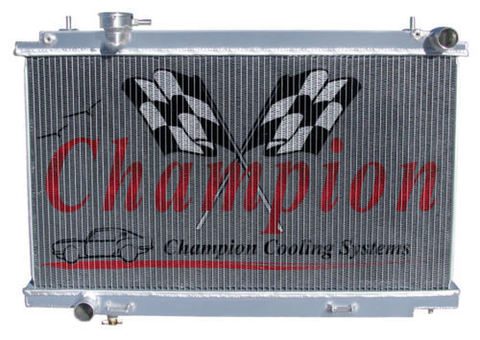 フェアレディZ 350Z Z33 03-06  3層 Champion アルミラジエター  CC2577