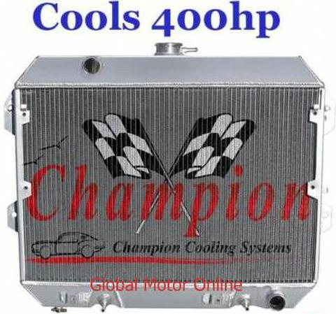75-78 NISSAN 280Z 2層 Champion  アルミラジエター   EC634