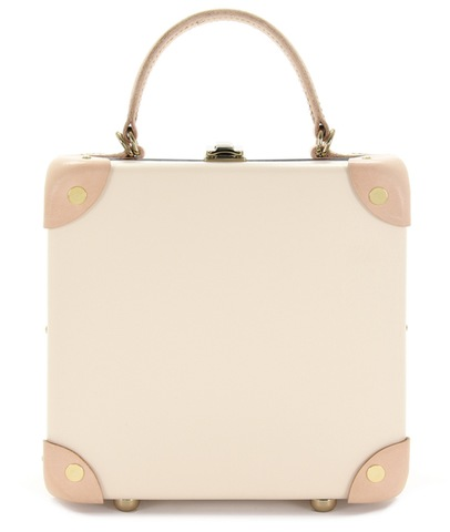 "CENTENARY Safari Ivory White 7""Mini Trunk Case"