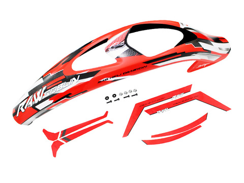 H1423-S RAW canopy Red and Sticker