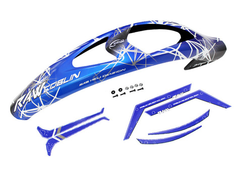 H1426-S RAW CANOPY BLUE AND STICKER