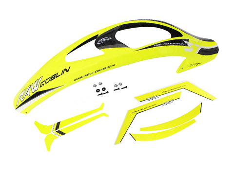 H1346-S Yellow Canopy with Stickers