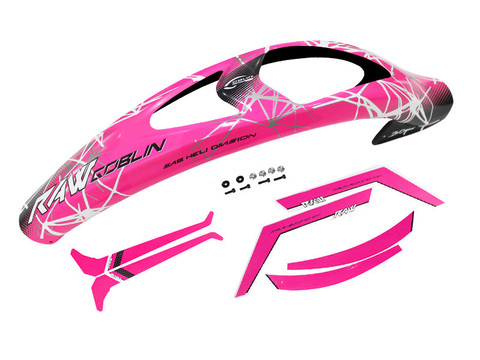 H1425-S RAW CANOPY PINK AND STICKER