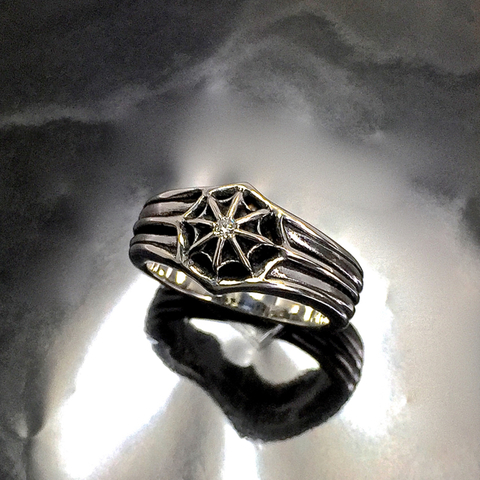 COSMIC RING w/DIAMOND