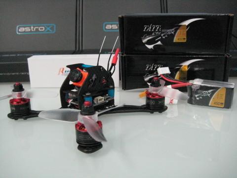 astroX TX13Q Vr2  RunCam/Xnova  アンダ-200g 日本限定コンボ4セル仕様