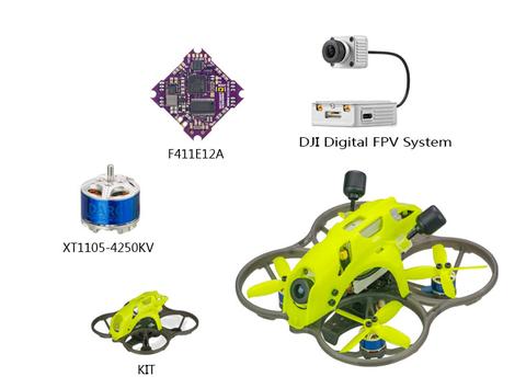 LDARC ET85D PNP DJI Digital FPV System DJI送信機用