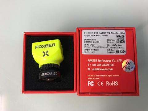 FOXEER PREDATOR V4 Standard/Mini 2.5mm GREEN