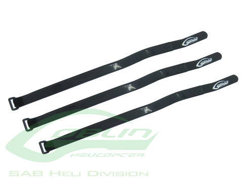 Battery Velcro Strap 430mm L 20mm W(3pcs) - Goblin 500/570 [HA023-S]