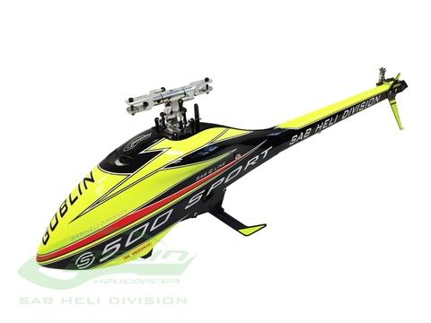 デッドヒ-トバ-ジョン SG514 & ZEAL BLADES&モ-タ-&ESC&KSTサーボ XH Yellow
