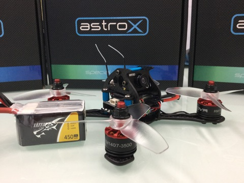 AstroX TX13Q RACING With TATUU 4S  combo