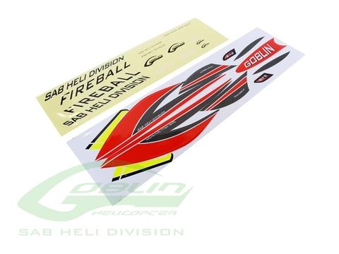 HA064-S - Fireball Sticker