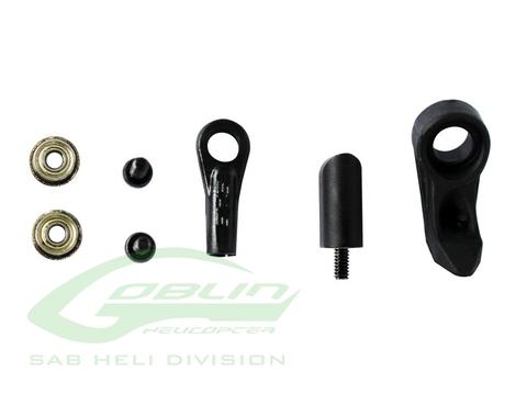 H0795-S - Black Grip Arm Plastic