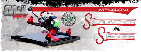 New!  PREORDER! Smack FPV sRacer 207 FPV Racing Quad (Frame Only)
