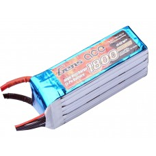 Gens ace 2200mAh 22.2V 45C 6S1P Lipo Battery Pack for Goblin 380/420
