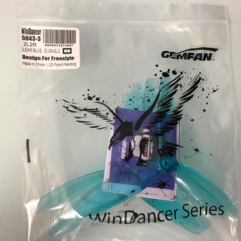 GEMFAN Win Dancer 5043-3 CLEAR BLUE DURABLE