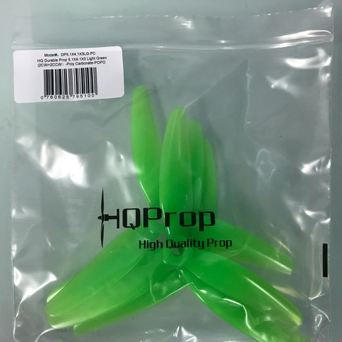 HQ Durable Prop 5.1×4.1×3 Light Green