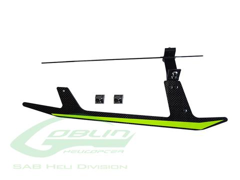H0696-S - Carbon Fiber Landing Gear Set - Goblin Black Thunder