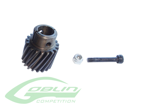 Heavy Duty Steel Pinion 19T - Goblin 770 Competition/Speed [H0361-S]