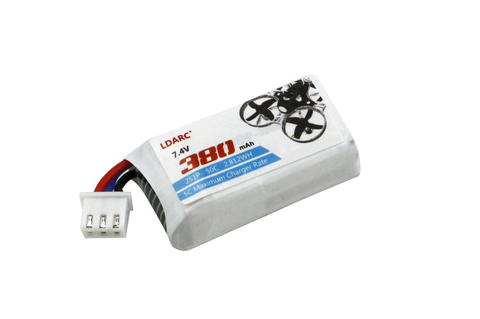LDARC 7.4V 380mAh 50C Battery