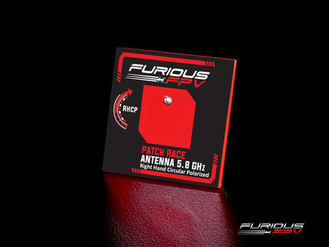 FuriousFPV - Patch Race Antenna 5.8GHz RHCP