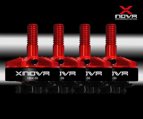 NEW! Xnova 1804-3500KV lightning racing FPV motor combo