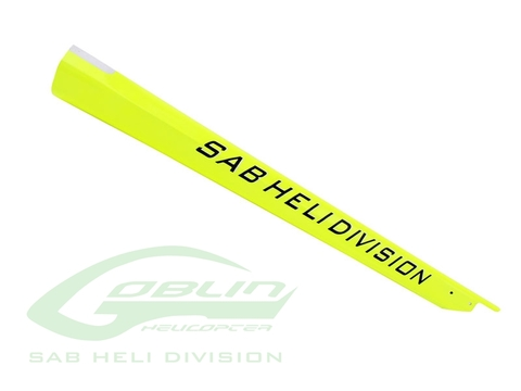 H0863-S - Carbon Fiber Tail Boom Goblin 420 - Yellow