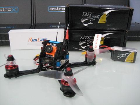 astroX TX13Q Vr2  RunCam/Xnova  アンダ-200g 日本限定コンボ3セル仕様