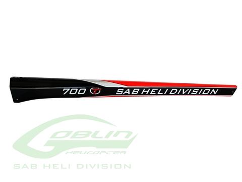 H0845-S - Carbon Fiber Tail Boom Goblin Thunder T