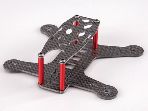 BeeRotor BR130 Carbon Fiber Mini FPV Racing Frame