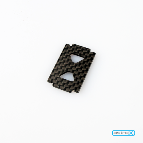 Action camera mounting plate