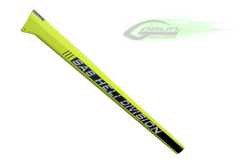 Carbon Fiber Tail Boom - Yellow [H0092-S]