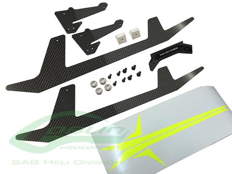 Carbon Fiber Landing Gear - Goblin 500 Sport H0652-S