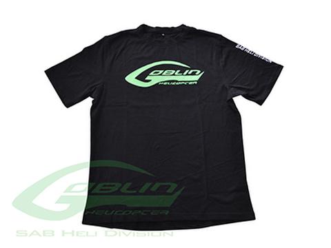 SAB HELI DIVISION New Black T-shirt - Size XL [HM025-XL]
