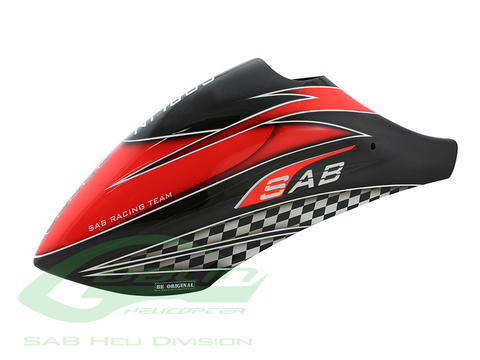 Canomod Airbrush Canopy SAB Red/Carbon - Goblin Speed [H9031-S]