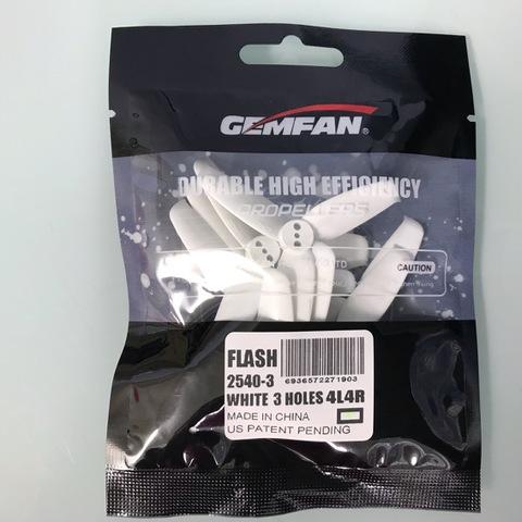 GEMFAN FLASH 2540-3  WHITE 3HOLES