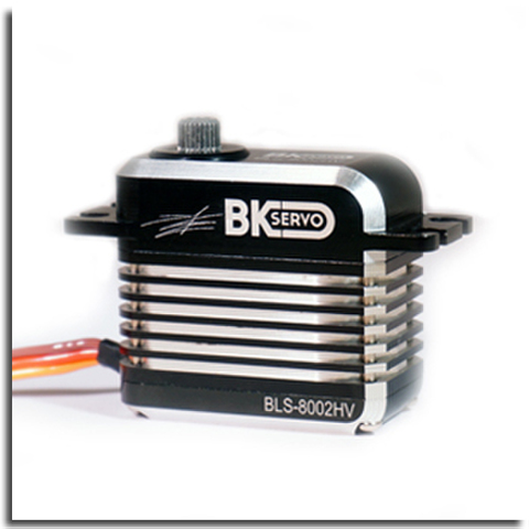 BK Cyclic High Speed Brushless Servo Model 8002HV