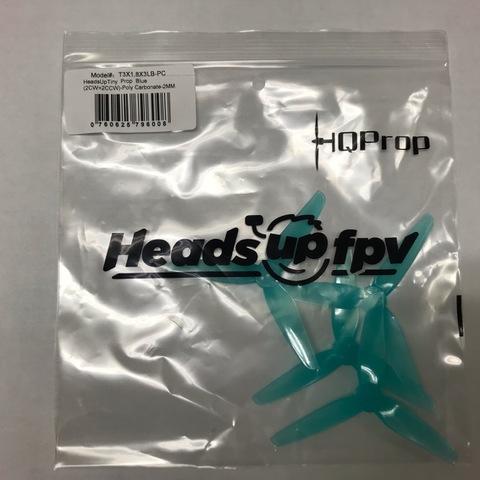 HQ  HeadsUp T3×1.8×3 Blue 2mm-shaft