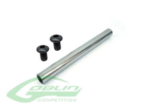 Steel 5mm Tail Spilde Shaft - Goblin 630/700 Competition [H0329-S]