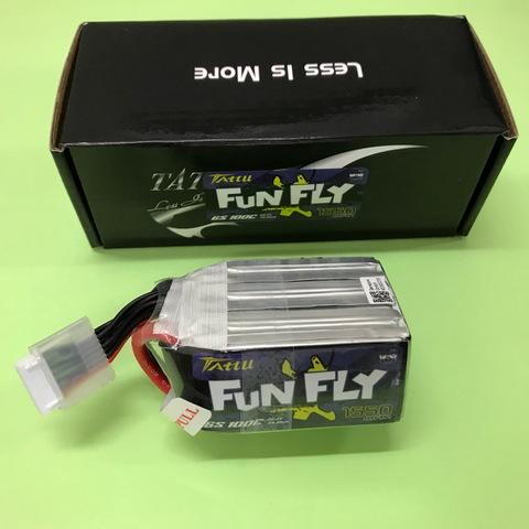 TATTU FUN FLY 1550mAh 6S 22.2V 100C