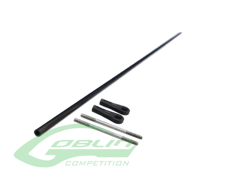 HC465-S - Tail Push Rod Ø4 X Ø2,5 X 473mm - Goblin 420 Sport