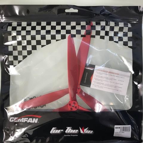GEMFAN X-CLASS 13×10 1L/1R 1310 Red
