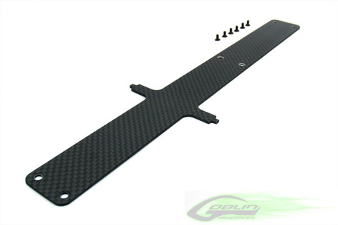 Carbon Fiber Battery Tray - Goblin 630/700 [H0002-S]