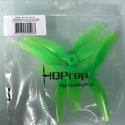 HQ Durable Prop 5.1×3.1×3 Light Green