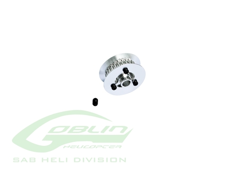 H0859-26-S - Aluminum Tail Pulley 26T - Goblin Comet