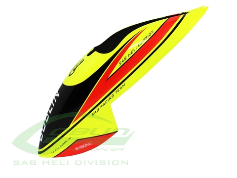 H0920-S - MiniComet Canopy Yellow/Red
