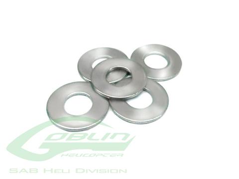 HC184-S - Washer Ø4,3 x Ø11 x 1(5pcs) - Goblin 500/570